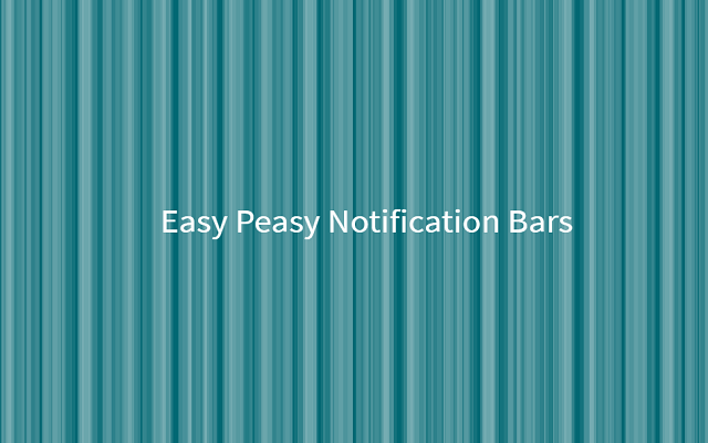 Easy Peasy Notifications