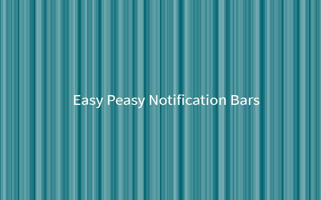 Easy Peasy Notifications